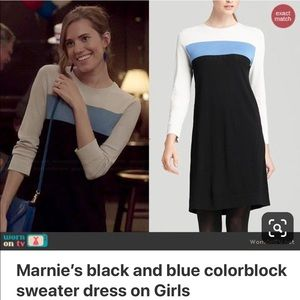 """Diane Von Furstenberg """"Aina"""" Dress Blue/Black"""